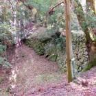 太宰府口城門跡付近の石垣