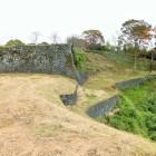 角櫓跡から見た西の丸方面