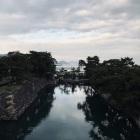 天守台から瀬戸内海の眺め