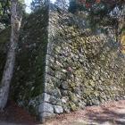 聳える天守台高石垣
