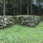 遊佐屋敷の石垣
