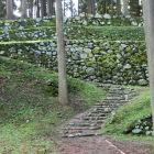 調度丸から見た五段石垣