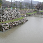城内南側の石垣