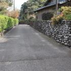 丸石垣の通り
