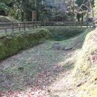 中平城と神明城南先端曲輪間に在る井戸跡