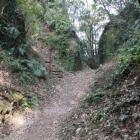同左から本丸登城路口