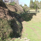 神明城東側の空堀