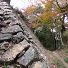 南城の石垣堀切