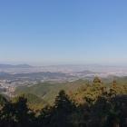 国見櫓跡からの眺め