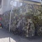 櫓下御門の縦石