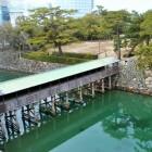 天守台からの眺望(鞘橋)