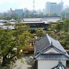 月見櫓からの眺望(渡櫓と披雲閣)
