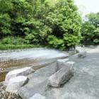 歴史博物館の土塁と水堀