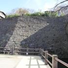海鹿櫓南側腰曲輪石垣