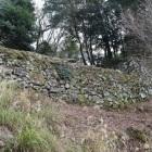 二の丸・西門跡石垣