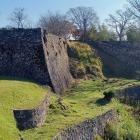 西の丸西面石垣