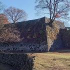 中川但見屋敷北面の石垣