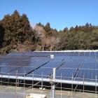 太陽光発電設備が設備されています