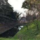 昔北浜川の水を引き込んだ?