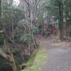 土橋と水堀