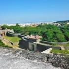 漏刻門付近から首里城下を望む
