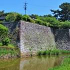 坤櫓跡・太鼓櫓跡石垣(南西側)