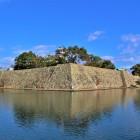 天守・南隅櫓跡・西隅櫓跡(南側)