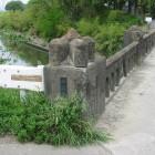 石田堤が決壊した場所と言われる堀切橋