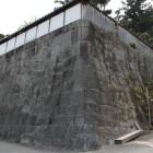 家老屋敷北東角石垣
