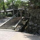 春日口門石垣跡
