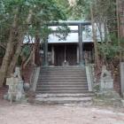 千早城本丸跡は千早神社にあり。
