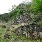 天守丸北下の石垣