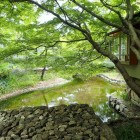 向山庭園池