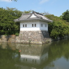 二の丸隅櫓('04年は直ぐ横に橋あり)