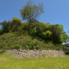 詰・南面の石垣