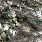 主郭部の石垣