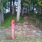 洲島城櫓台全景1