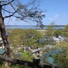 印旛沼を眺める!