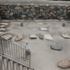 地階穴倉と礎石