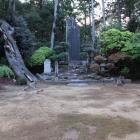 本丸内の大河内合戦400年記念石碑