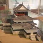 西尾城天守閣模型