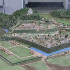 館内の大多喜城模型
