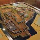 復元稲荷櫓内部展示の甲府城模型