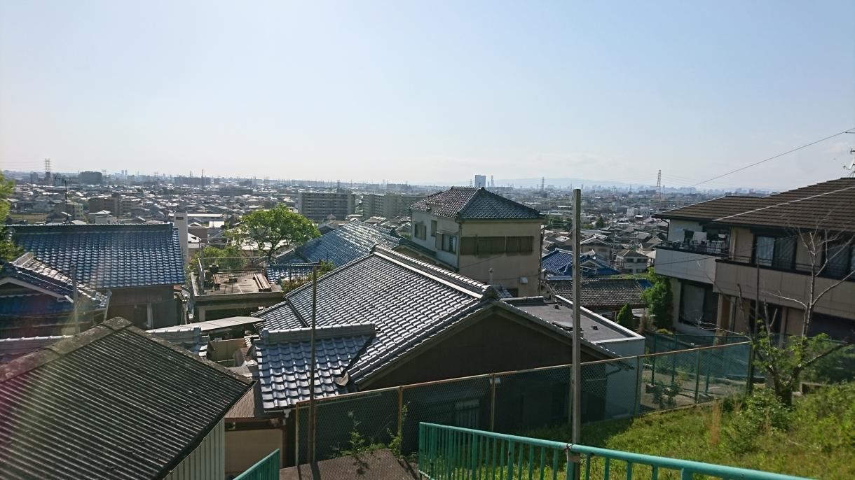 大阪湾側の眺望