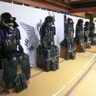 角田市郷土資料館の「甲冑展」