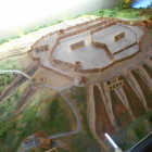 東氏記念館にあるジオラマ