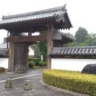 復元された二の丸の門