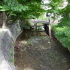 御園神明社の中堀跡