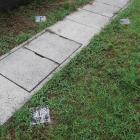 石垣根石の標石
