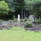 黒木御所舊址・大塔宮御遺蹟の石碑